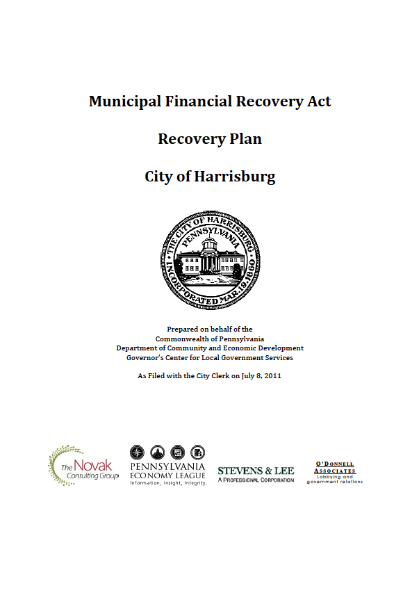 City of Harrisburg Recovery Plan - Executive Summary