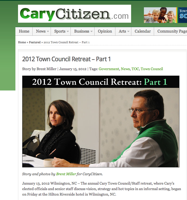 Novak Consulting Group featured in CaryCitizen article